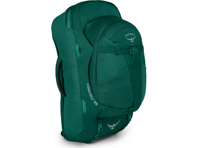 Osprey Fairview 55 Equipaje Mujer, rainforest green
